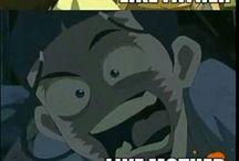 Avatar the last Air Bender.                       The legend of Korra
