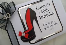 Personalised Birthday Guest Books / Handcrafted Birthday Guest Books