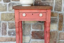 Milk Painted Furniture / New and vintage furniture painted or restored using Milk Paint.