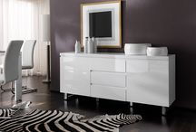 Sydney White Gloss Living Room Collection / Living Room,Dining Room,Office furniture in a white gloss finish.Sideboards,TV Stands, Shoe cabinets ,Display cabinets,#whitegloss #furniture