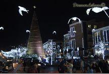 Lebanon Christmas time / Christmas decoration and Lebanon during New Year
