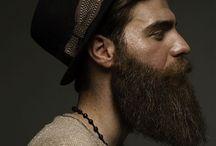 Hipster barba