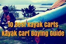 Kayak Carts, wheels and trolleys