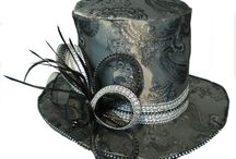 Burlesque and Moulin Rouge Hats / Burlesque and Moulin rouge inspired top hats and more!