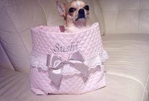 "Sparkling dog's ""Sleep bag"""