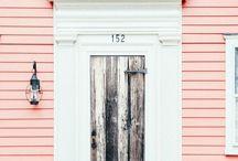 House - exterior colours