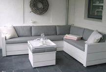 sofá área de lazer
