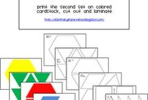 Pattern blocks / by Wanette Alba