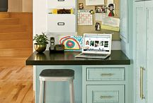 Kid-Cool Work Stations / Welcome to our inspiration board for kid-cool homework stations. Have fun with designing your kid's workspace and ask them what design elements they'd like to incorporate. These A+ designs are sure to inspire you and your kids.