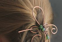 Hair pins and other accessories