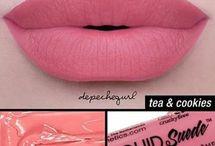 dudak renkleri