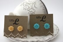 Little L Floral Jewellery Range / Little L resin floral range of jewellery and hair clips for sale through the online store.