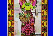 Jim Shore Angel Coloring Book