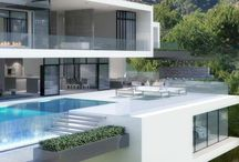 Modern Architecture / Modern habitable spaces. Falling in love with architecture and design.