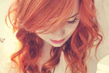 Hair / Here I'll put all the hairstyles I like and which I wish I could use myself. A lot of redheads there will be, yes!