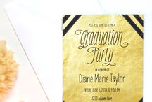 Graduation Celebration / Graduation party planning, ideas, and fun tips! Collection of Grad party greatness!