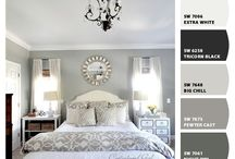 Dreamy Paint Schemes / One of the secrets of a well designed home is that the paint scheme is thought out. Here are some ideas and inspiration.