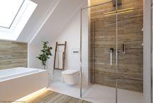 Tetőtér fürdő