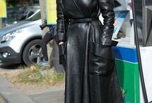 leather. chic
