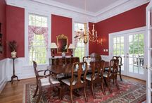 Dining Rooms / Beautiful dining rooms and dining room designs -- most on this board can be found in Harrisonburg and Rockingham County, Virginia, in the Shenandoah Valley.