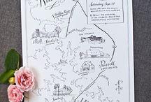 Wedding stationary / Wedding stationary design inspiration