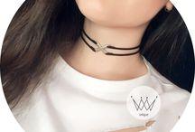 Choker Necklace Handmade El yapımı / Choker