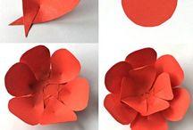 Papírové kytice