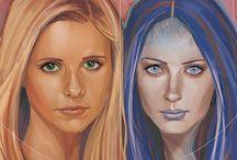 Angel et Buffy