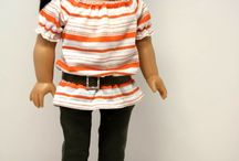 AG Pant Sets / Pant and Short Sets for the American Girl / by Judy Hart