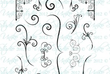 Uniko Studio FONTiment Fancies - Swirls & Flourishes