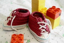 Crocheted Shoes / Crocheted shoes patterns & ideas
