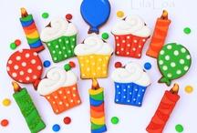 Cookies - Birthday / by Tara Breitner Lethbridge