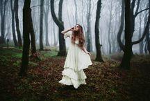 Ольга в лесу