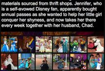 Disney: Lane Rouch / Crafty mom Jennifer Rouch has a passion and talent for creative costume-making made with materials sourced from thrift shops for her daughter Lane.