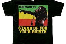 Tees: Bob Marley