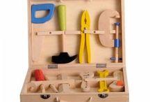 Les jouets et jeux d'imitation