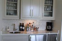 Basement kitchenette ideas / by Erica Rhoads Harris