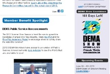 Weekly DEMAILS: Dive Industry News / DEMA's weekly email newsletter bringing you the latest news from DEMA and the Dive Industry. Subscribe here: http://bit.ly/N3ITDc / by DEMA.org