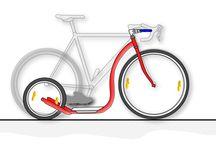 самокат из велосипеда