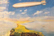 Zeppelin and airships / by Torben Larsen