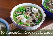 Vegetarian Crock Pot recipes / Easy and healthy #vegetarian, #vegan recipes, slow cooker, crock pot / by Simply Lanna