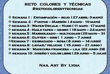 #retocoloresytécnicas / Nail Art