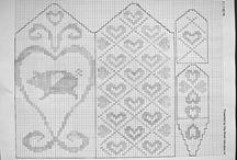 Knitting, patterns