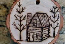 Pyrography / Woodburning designs and ideas