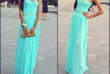 My prom dress (teal)
