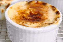 Puddings or souffles