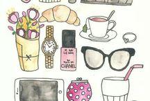 Illustrations / Desenhos
