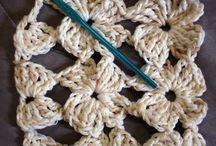 puntadas de fantasía  en crochet
