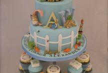 Georgia's 1st birthday cake