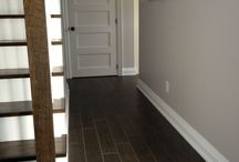 French Stairs Ideas / French Stairs ideas using oak, mahogany, walnut risers and treads.
